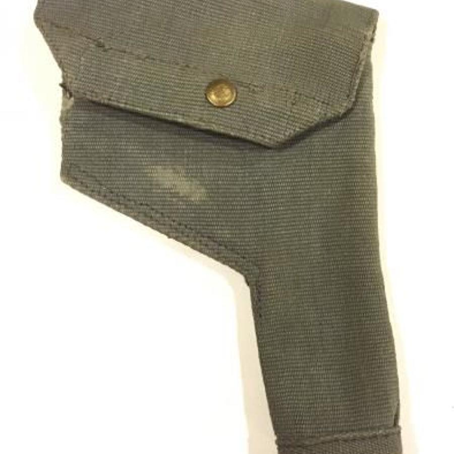 WW2 Pattern RAF Webbing Pistol Holster.