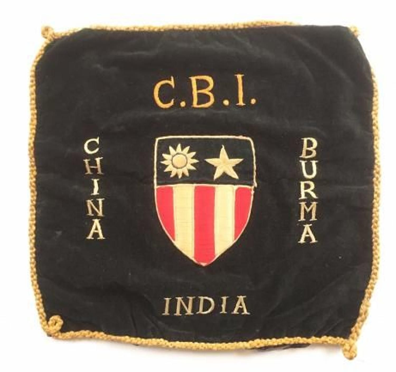 WW2 US China Burma India Theater Cushion Cover.