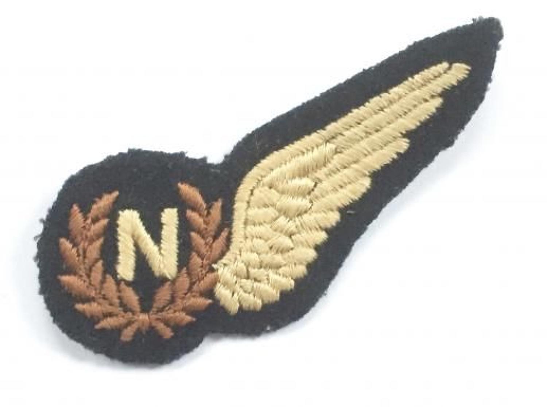 WW2 Period RAF Navigator's Brevet.