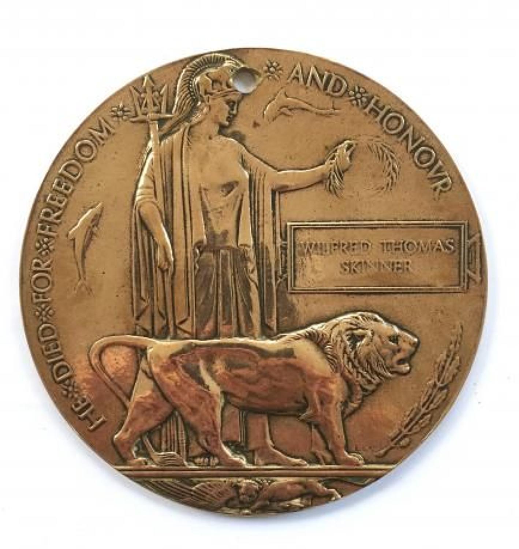 WW1 Canada 58th Overseas Bn Memorial Plaque.