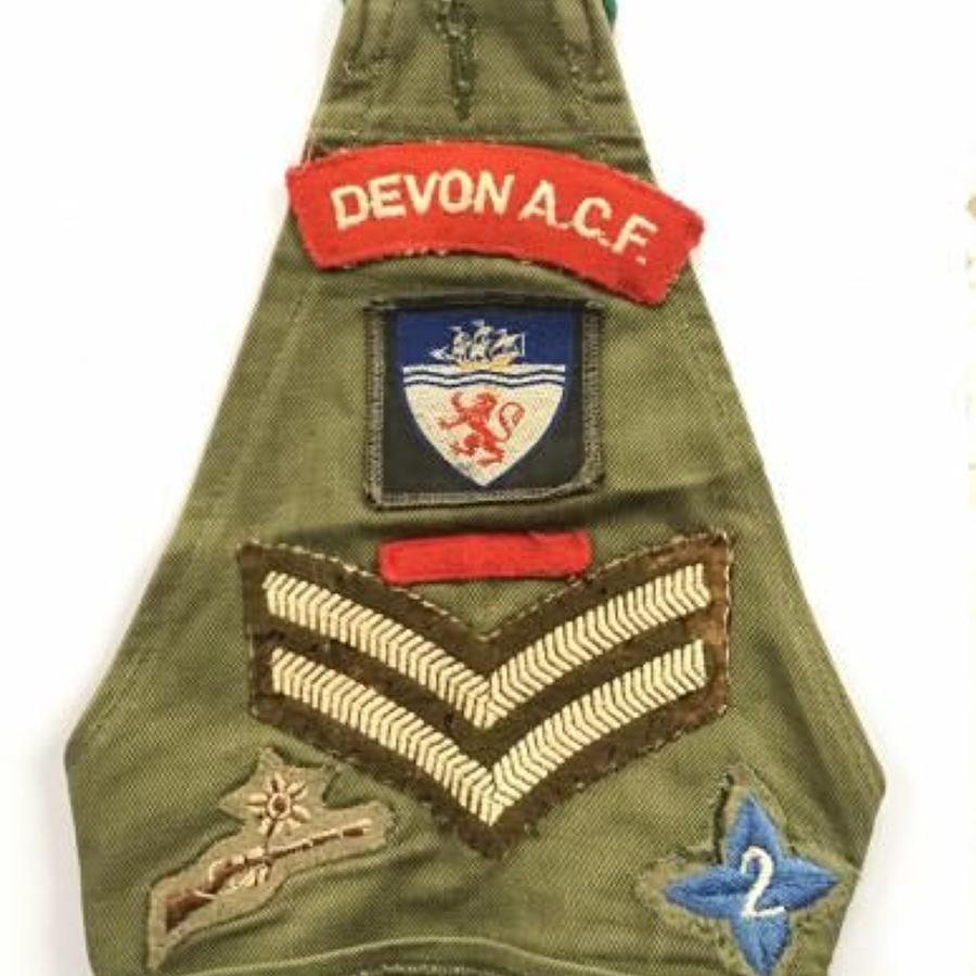 Devon Army Cadet Brassard Badges.