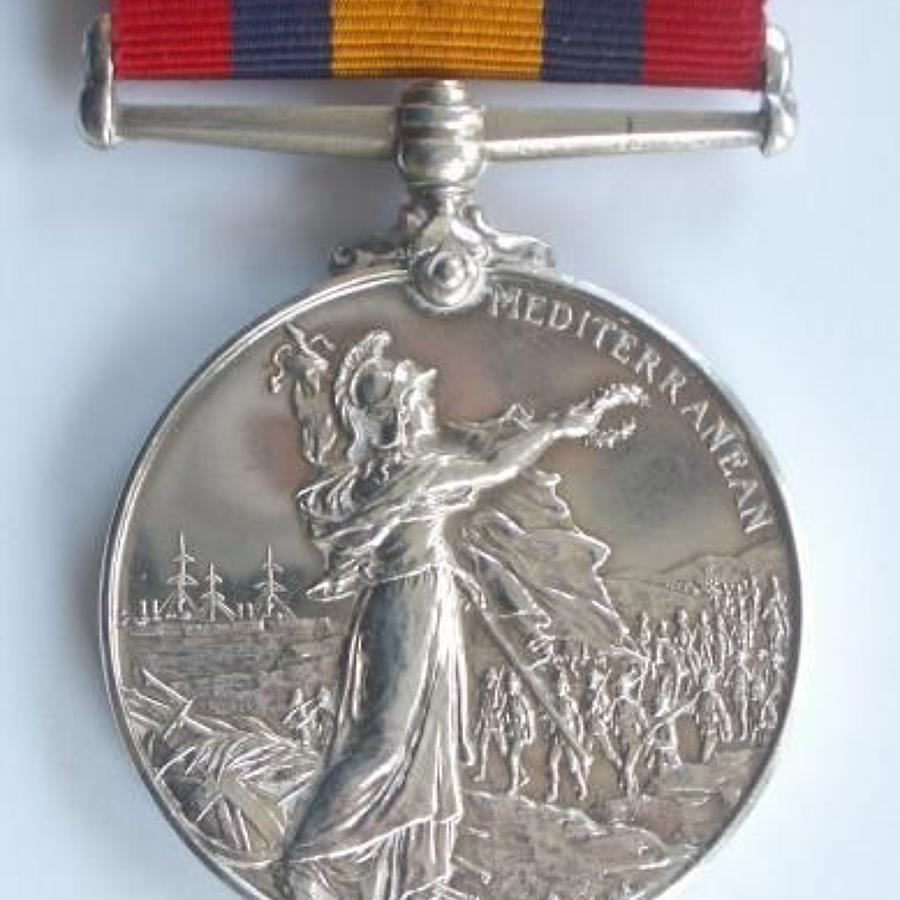 3rd (Militia) Bn Royal West Kent Regiment Queens Mediterranean Medal