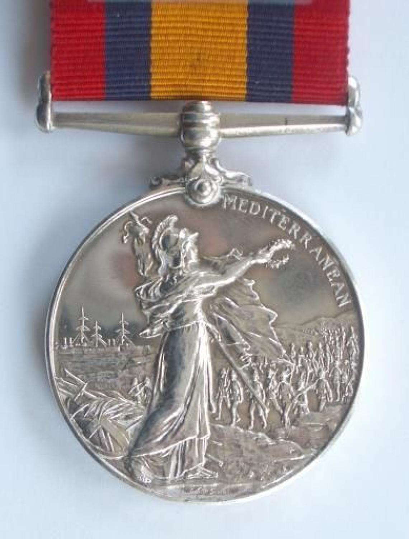 3rd (Militia) Bn Royal West Kent Regiment Queens Mediterranean Medal