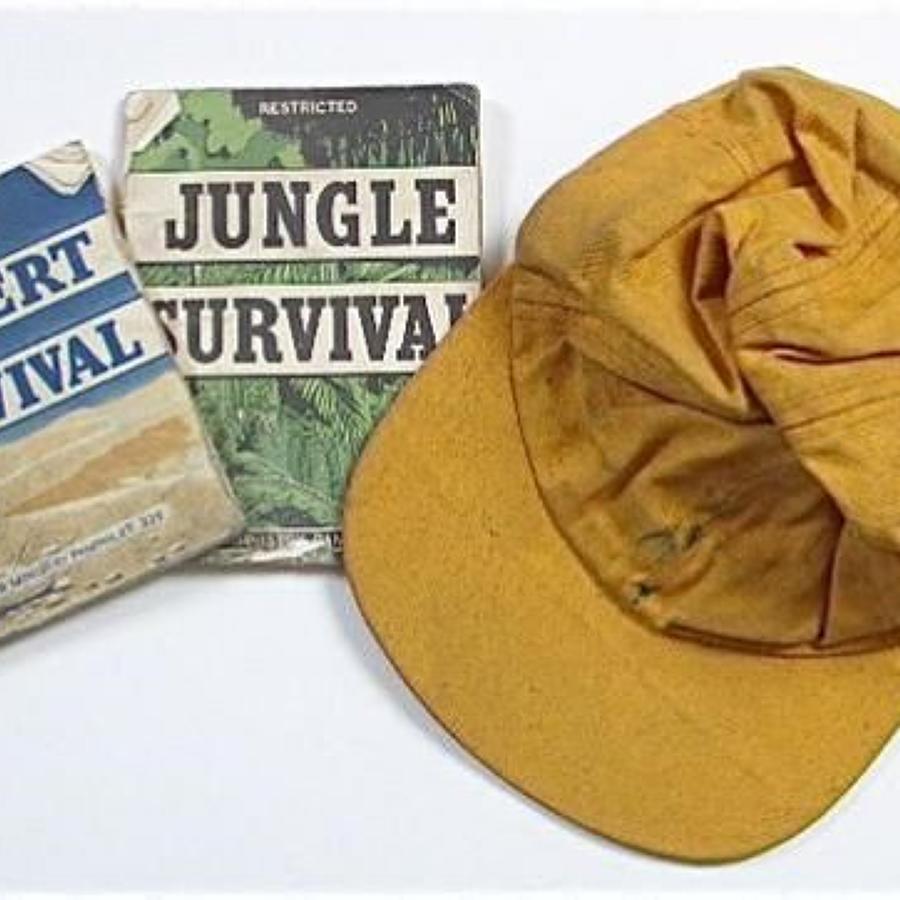 RAF Cold War Period Survival Items.