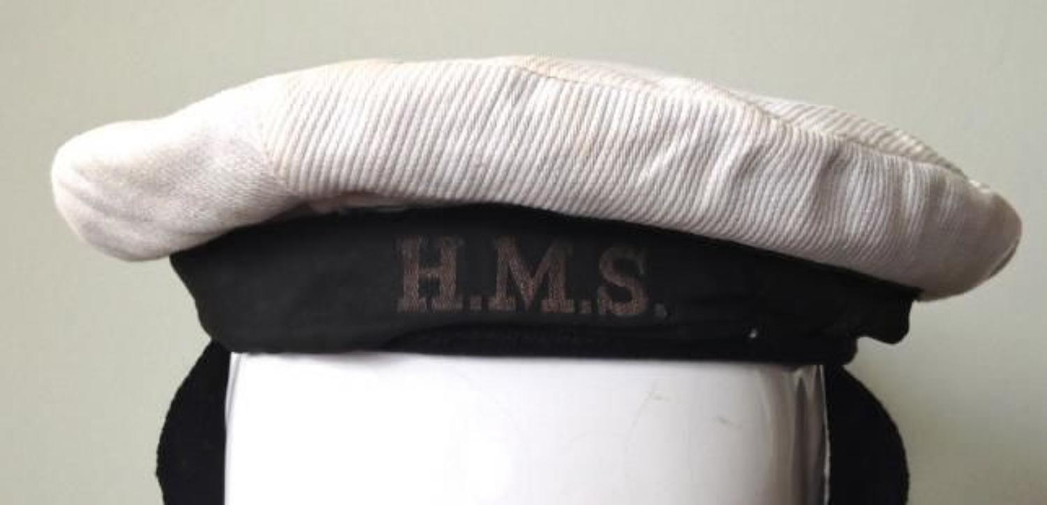 WW2 1945 WRNS Ratings Summer Cap.