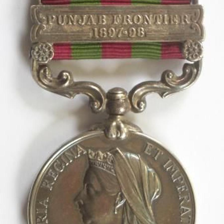 1st Bn Royal West Kent Regiment India General Service Medal, clasp