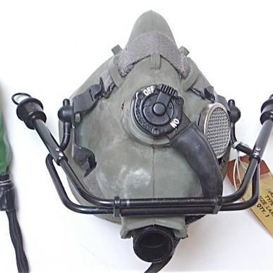 RAF Cold War Period Rare Type H1/A Oxygen Mask