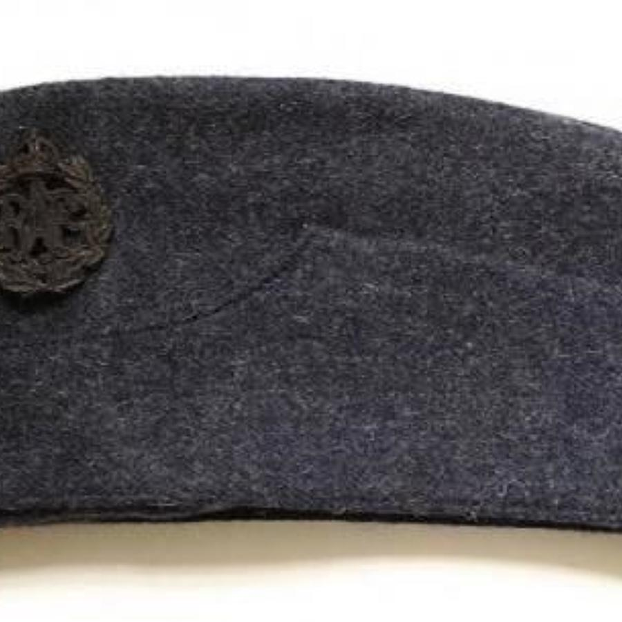 WW2 RAF Other Ranks Side Cap with Economy Badge & Buttons.