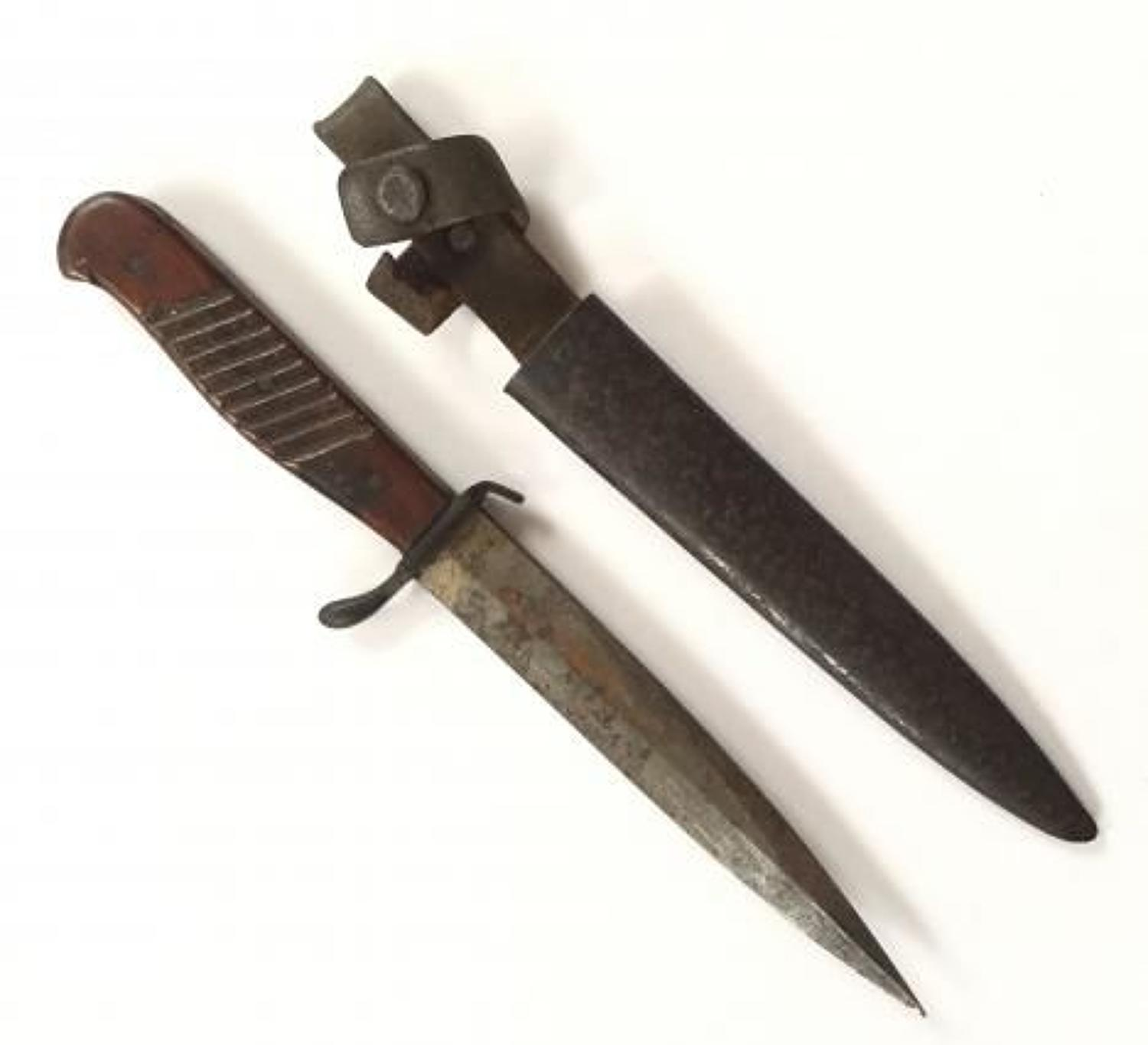 WW1 Imperial German Trench Fighting Knife.