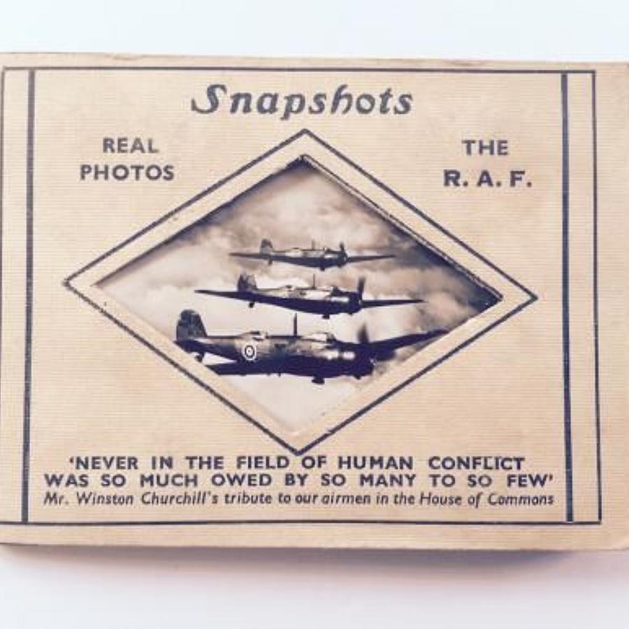 Early WW2 RAF Aircraft Photographs.