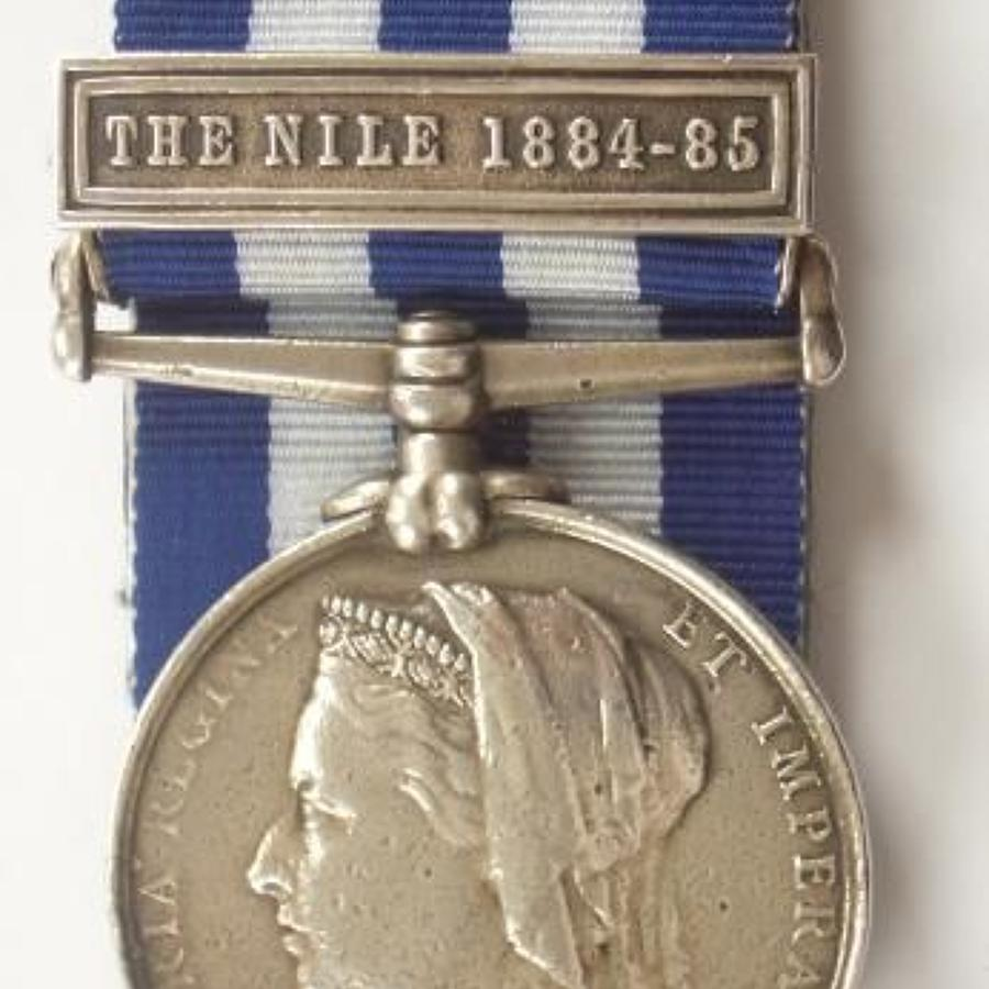 1st Bn Royal West Kent Regiment Egypt Medal.