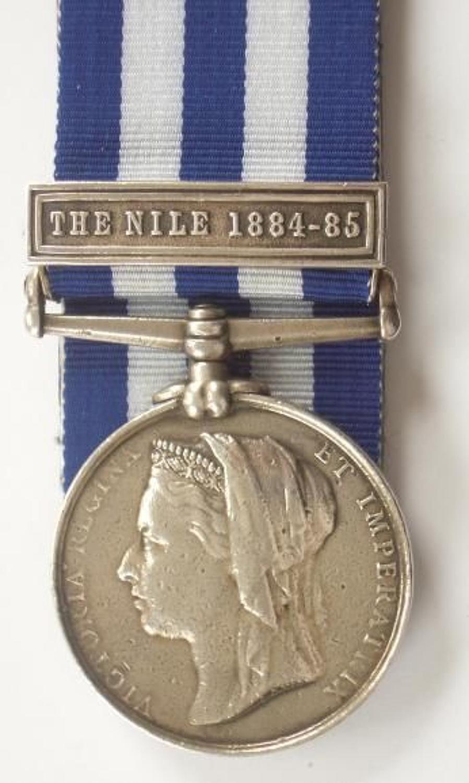 1st Bn Royal West Kent Regiment Egypt Medal.