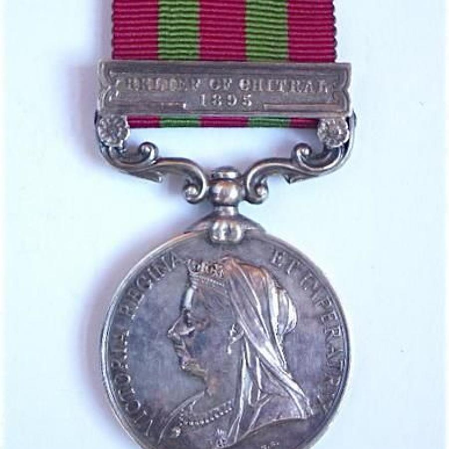 Gordon Highlanders 1896 Casualty India General Service Medal