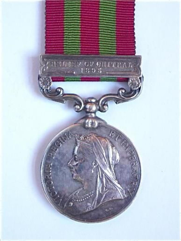 Gordon Highlanders 1896 Casualty India General Service Medal