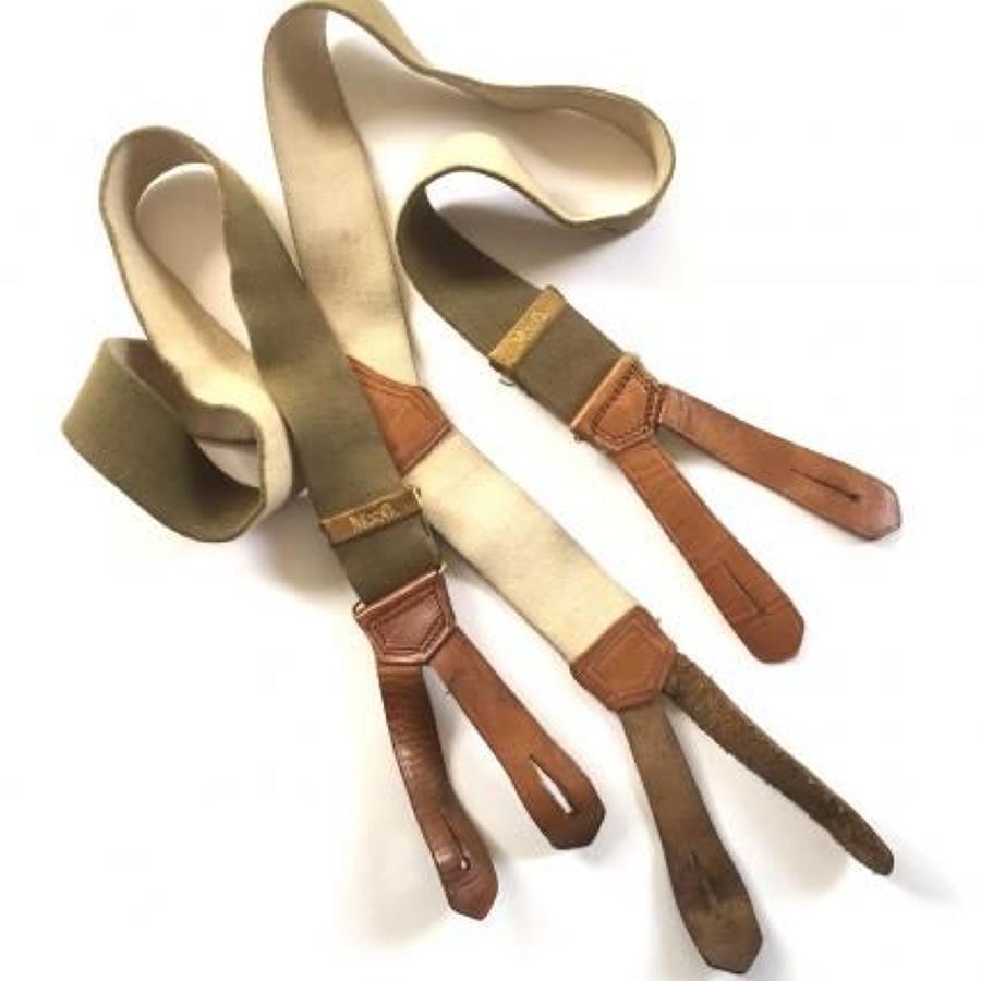 WW1 / WW2 Pattern British Army Officer's Braces