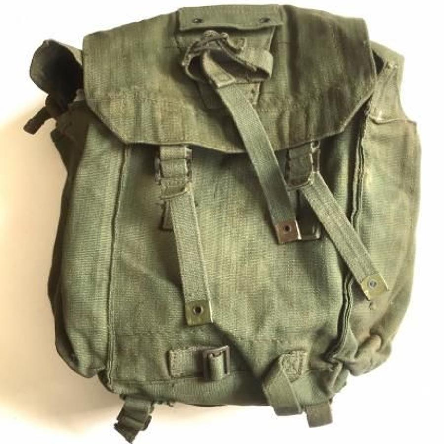 British 1944 Web Equipment Back Pack Dated 1946