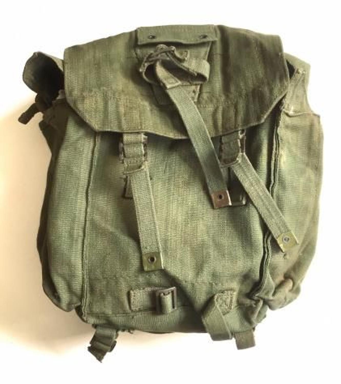 British 1944 Web Equipment Back Pack Dated 1946