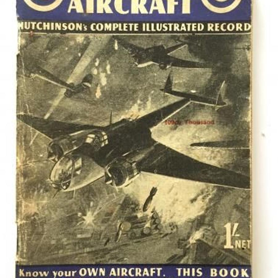 WW2 Aircraft Identification Booklet British Aircraft