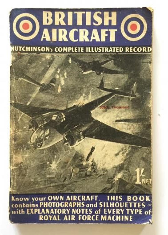 WW2 Aircraft Identification Booklet British Aircraft