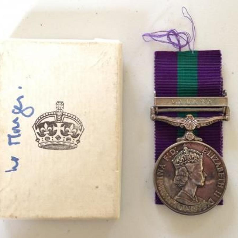 Queen Alexandra's Royal Army Nursing Corps Medal Clasp Malaya