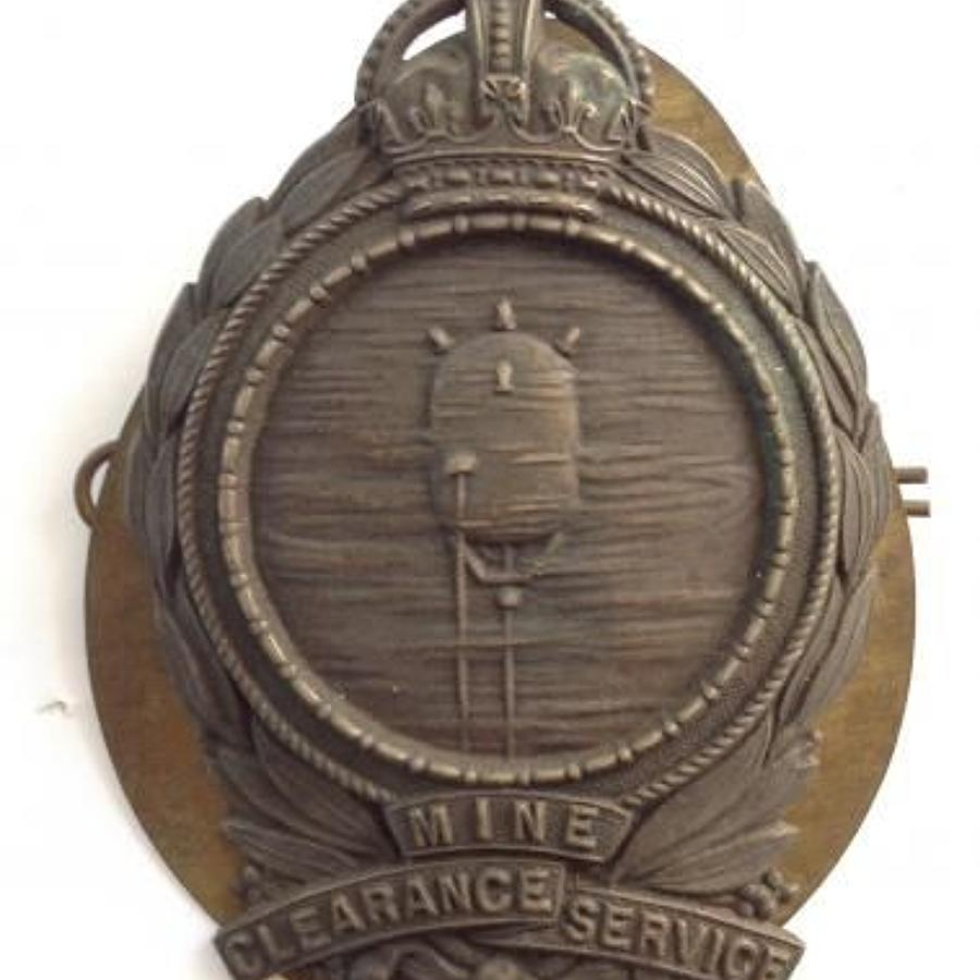 WW1 Royal Navy Mine Clearance Service Sleeve / Cuff Badge.