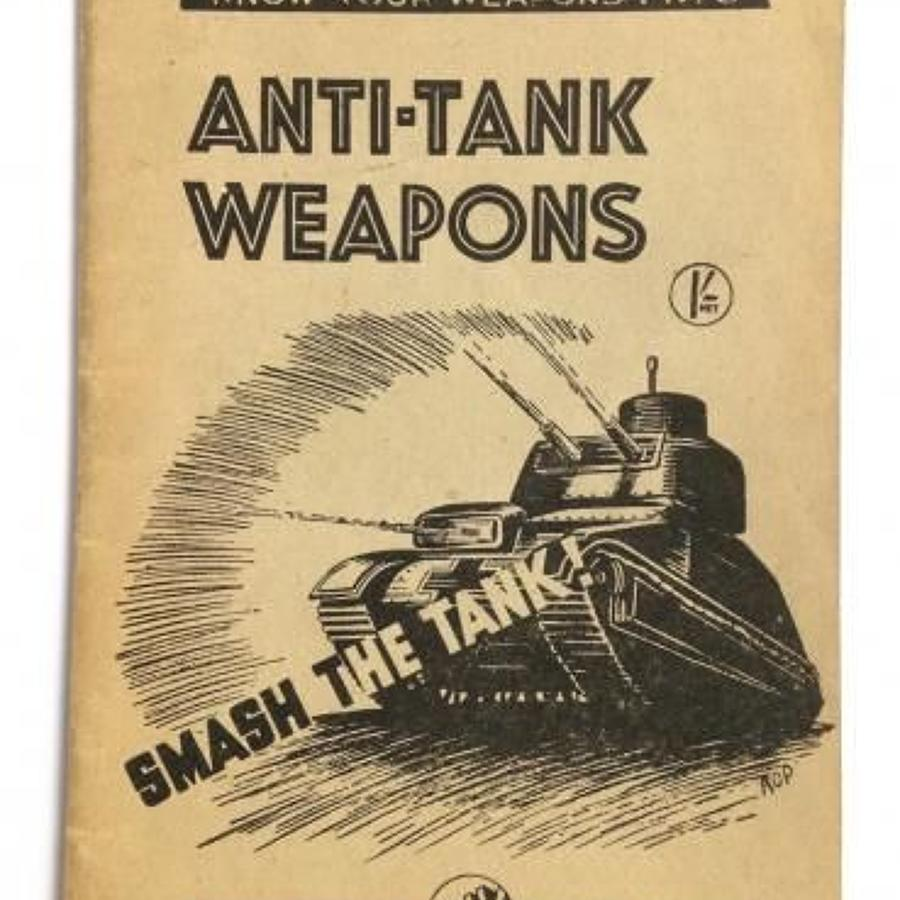 WW2 Anti Tank Weapons Booklet