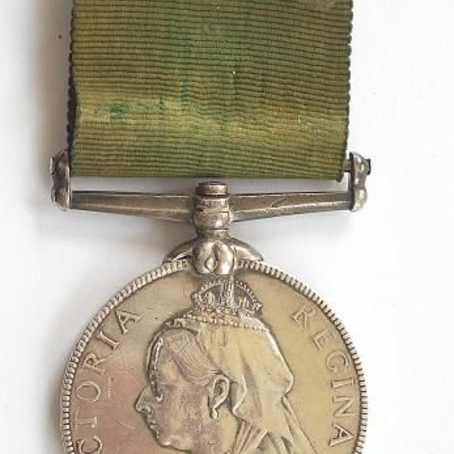 4th (Perthshire) VB Royal Highlanders Black Watch Volunteer Long Servi