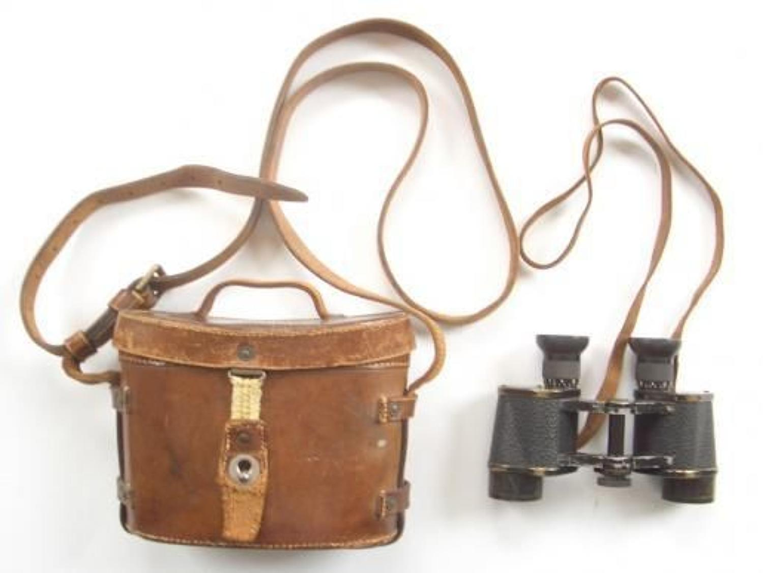 WW1 1914 British Army Issue Binoculars.