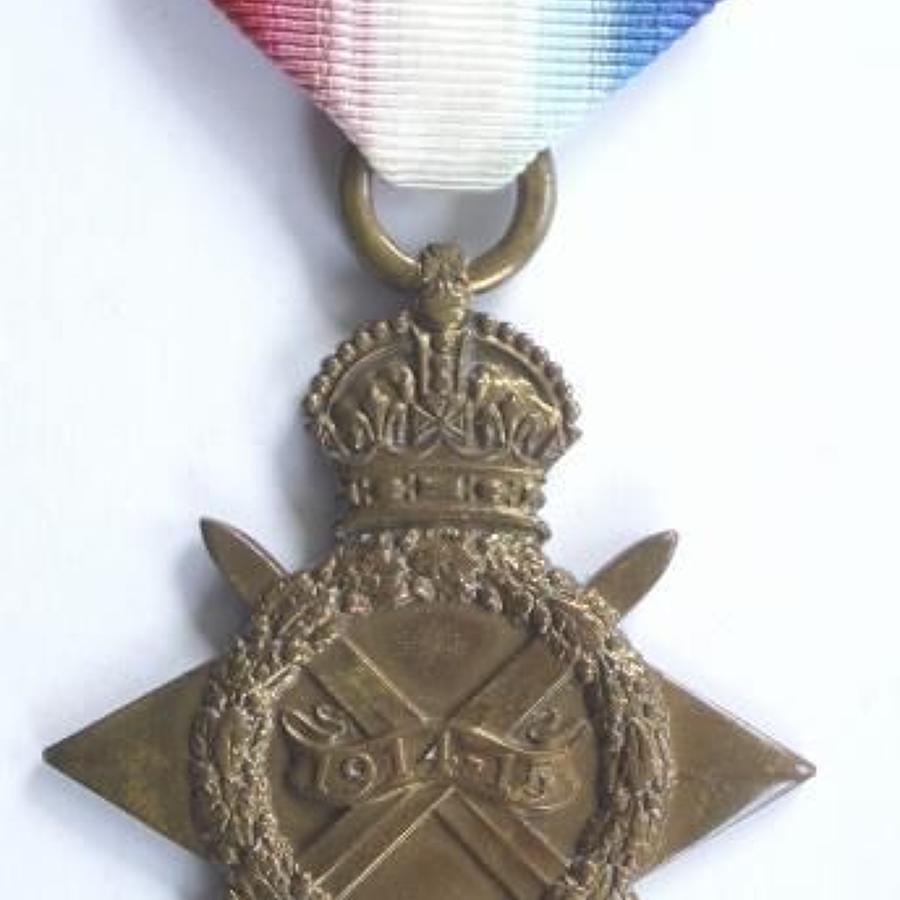 WW1 Royal Field Artillery 1914/15 Star.