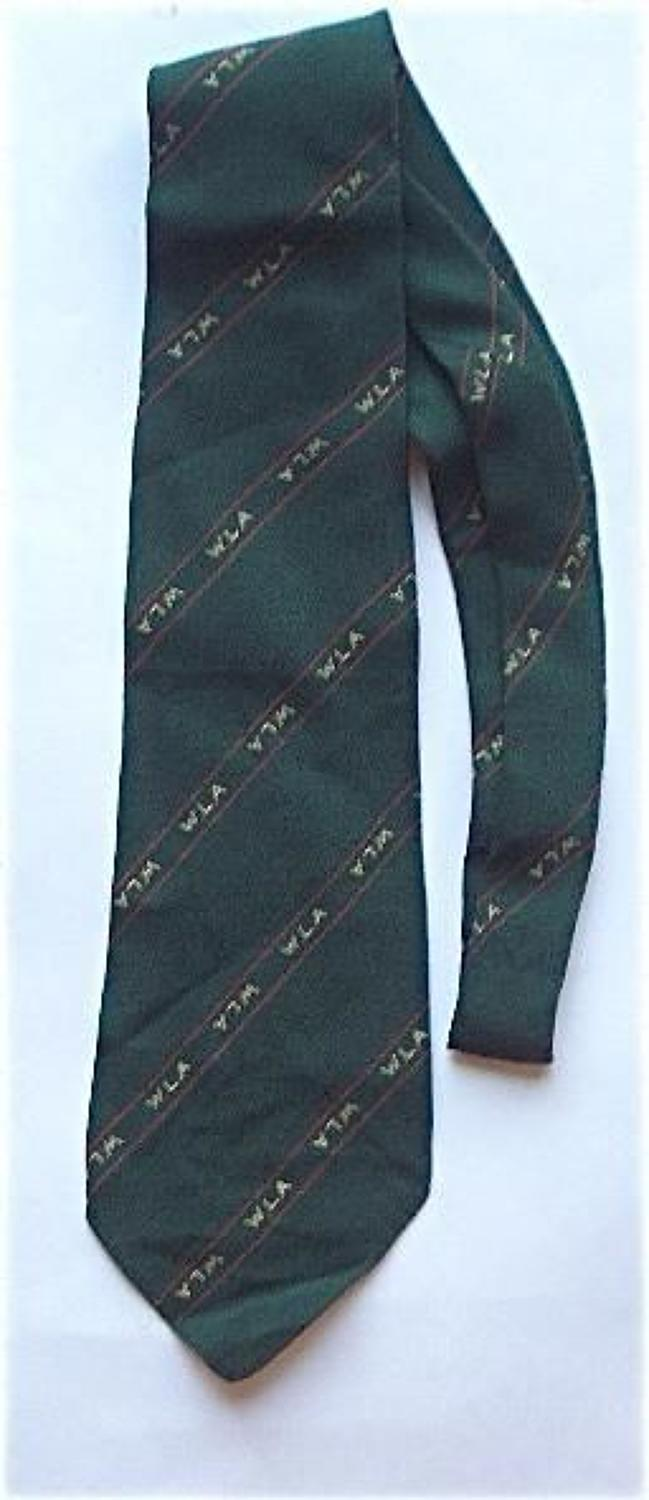 WW2 Womens Land Army Official Tie.