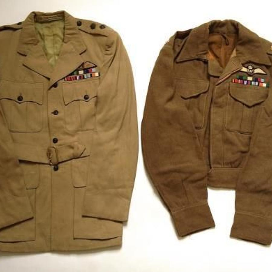 WW2 Period 8th Gurkha Rifles, RAF Pilots Uniforms.