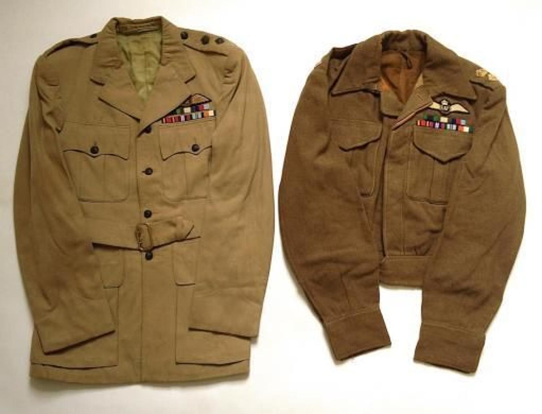 WW2 Period 8th Gurkha Rifles, RAF Pilots Uniforms.