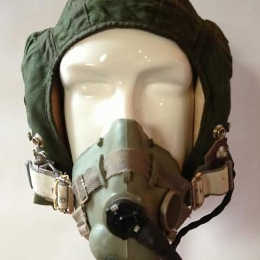 RAF Cold War Period Flying Helmet & Mask