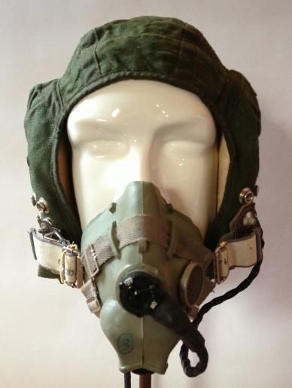 RAF Cold War Period Flying Helmet & Mask