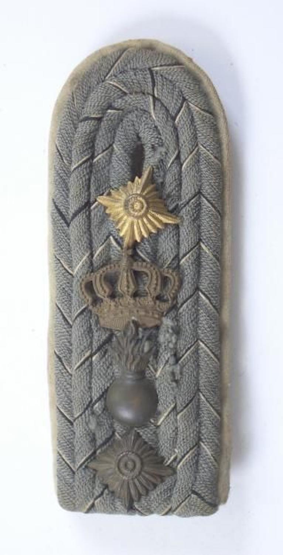 WW1 Imperial German Officer Shoulder Strap.