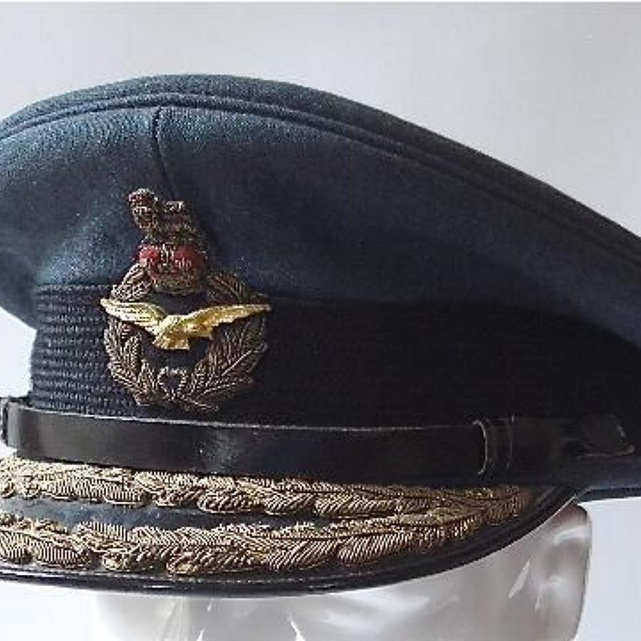 RAF Air Officers Cap.