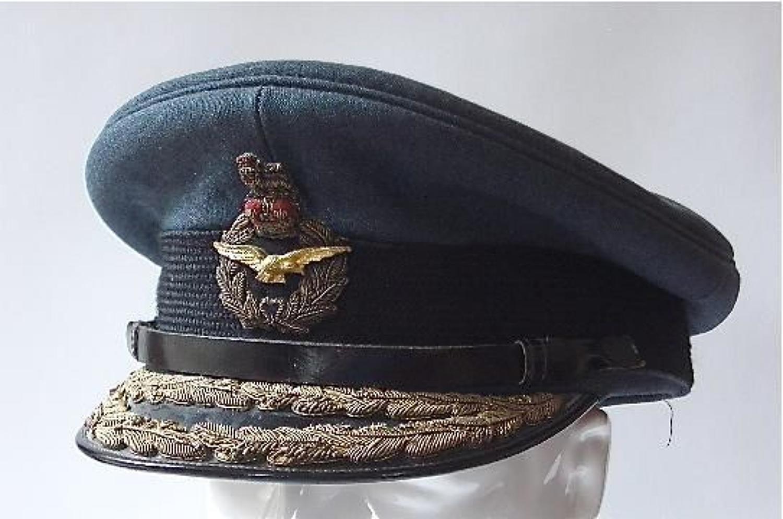 RAF Air Officers Cap.