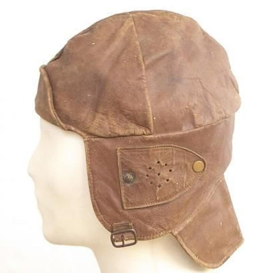 WW1 Period RFC style flying helmet.
