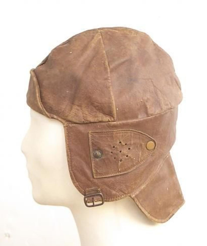 WW1 Period RFC style flying helmet.