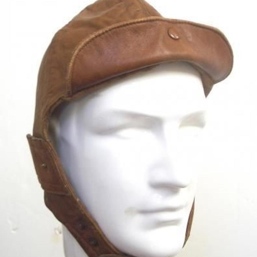 WW1 Royal Flying Corps RFC Flying Helmet By Ledux