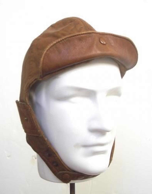 WW1 Royal Flying Corps RFC Flying Helmet By Ledux