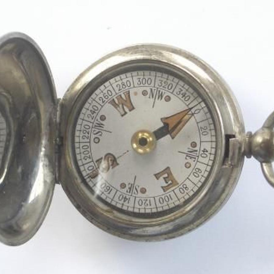 WW1 1918 Dated Pocket Compass.