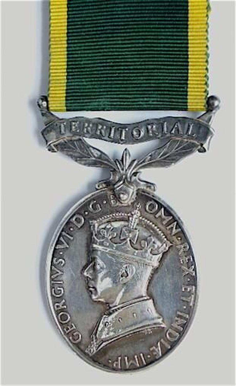 Royal Military Police Territorial Efficiency Medal