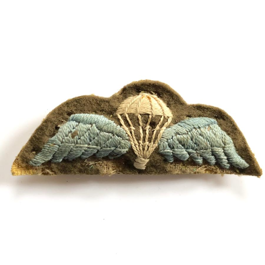 WW2 Parachute Qualification Padded Wing, Pin Fitting
