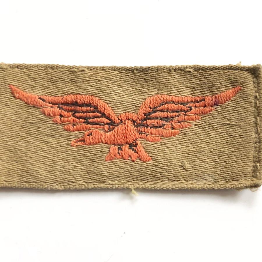 WW2 Period RAF Tropical Shoulder Eagle