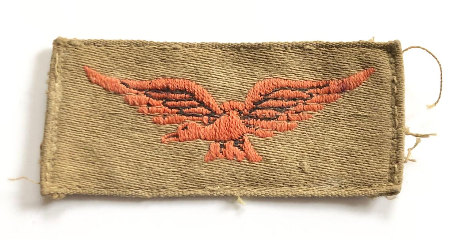 WW2 Period RAF Tropical Shoulder Eagle