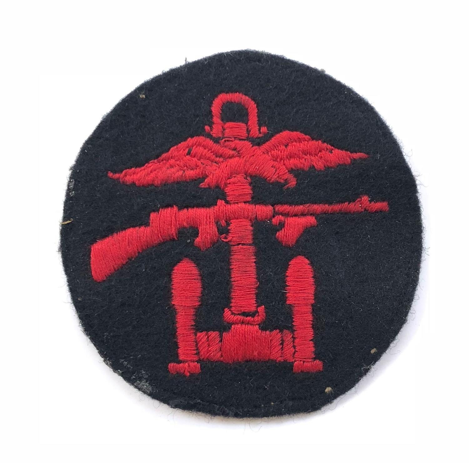 Combined Operations Cloth Formation Badge.
