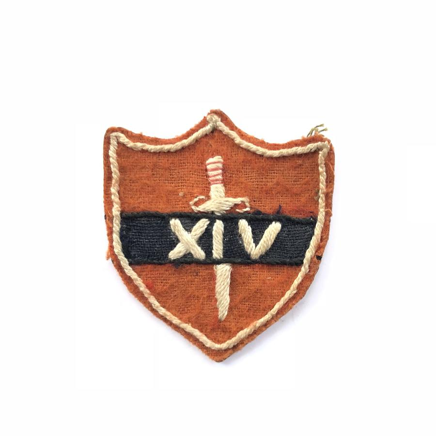 WW2 14th Army Formation Cloth Badge