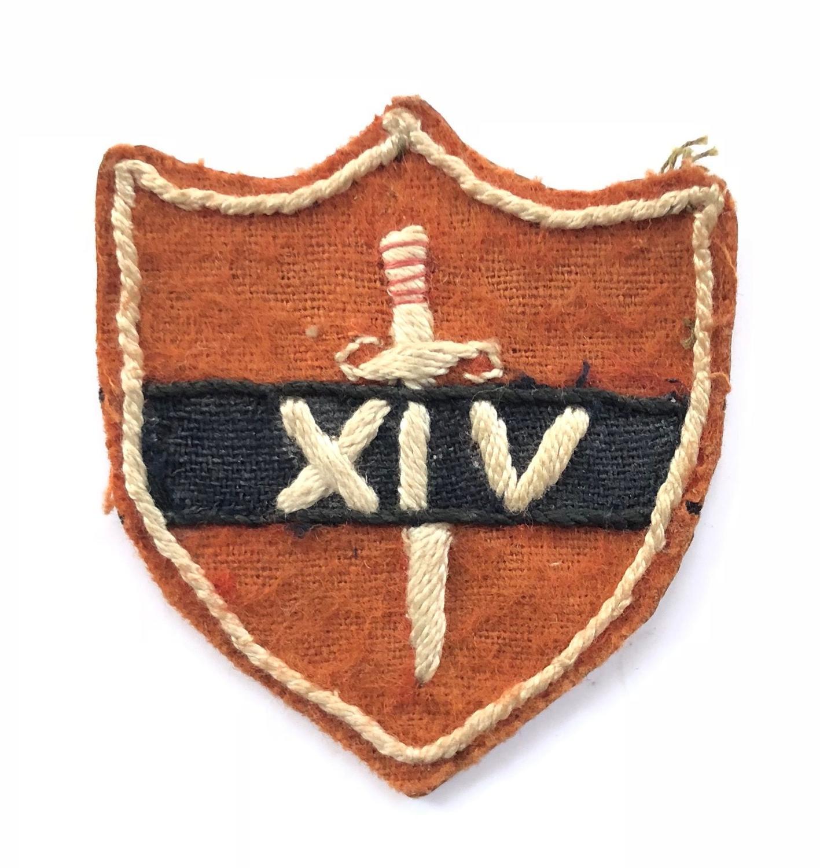 WW2 14th Army Formation Cloth Badge