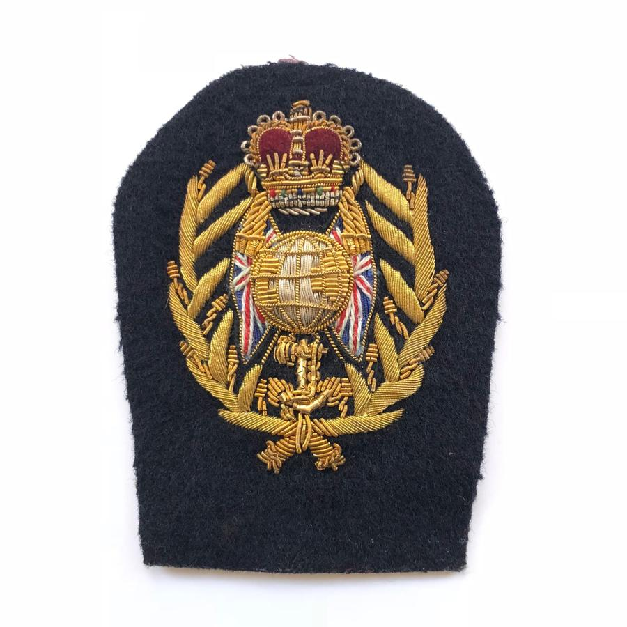Royal Marines Colour Sergeant's Arm Badge